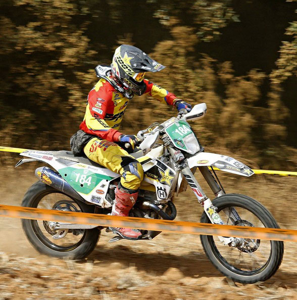 ISDE 2016. NAVARRA: SPAIN. DAY THREE. ON FIRE.