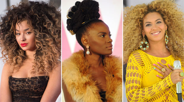 Four amazing and easy hairstyles for curly and kinky hairs