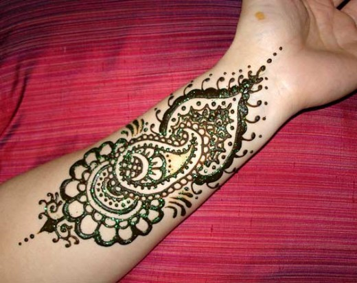 Attractive Arabic Henna Mehndi Designs For 2013-14
