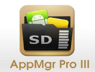 AppMgr Pro III (App 2 SD) Aplikasi Untuk Memindahkan Apk/Game ke SDCard