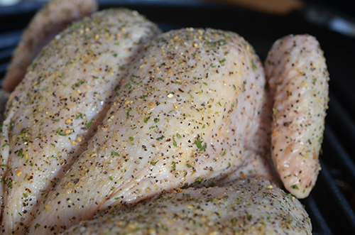 This is a basic easy chicken seasoning rub.