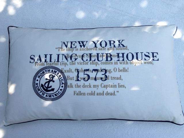 Kissen Maritim modewerkstatt ht maritime kissen als geschenk für einen