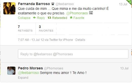 Te Amo Ainda E Sempre Você Lembra De Mim E Eu Nunca: FeFezetes Barroso: LOVE