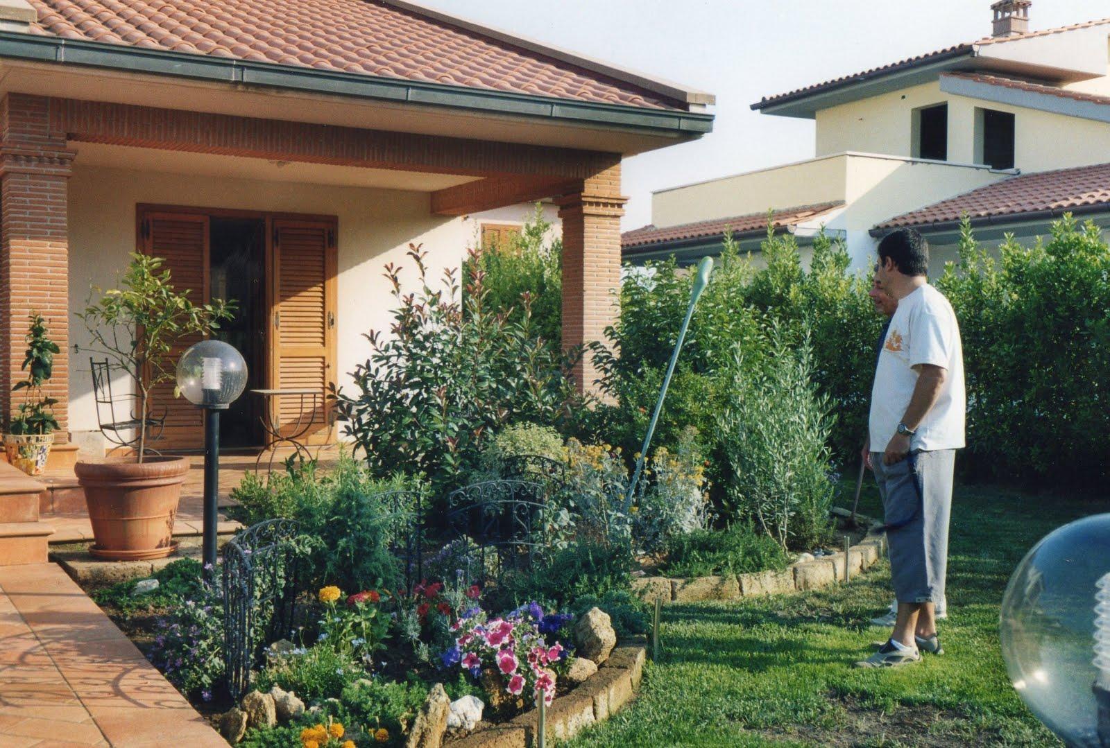 I giardini di carlo e letizia il giardino di riccardo for Abbellire giardino