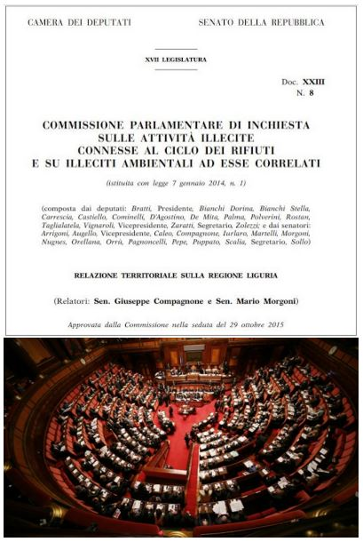LA COMMISSIONE PARLAMENTARE SU TIRRENO POWER : DOCUMENTO INTEGRALE.