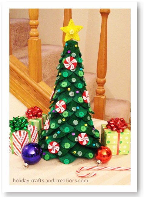 Top Giocabosco: creare con Gnomi e Fate: Tutorial alberi Natale in  XK17