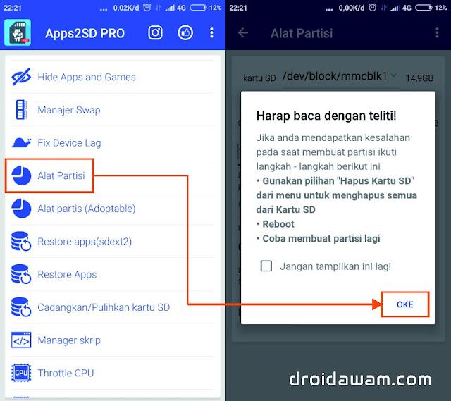 Cara Mudah Membuat Partisi SD Card di Android