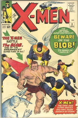 X-Men #3, first appearance of the Blob