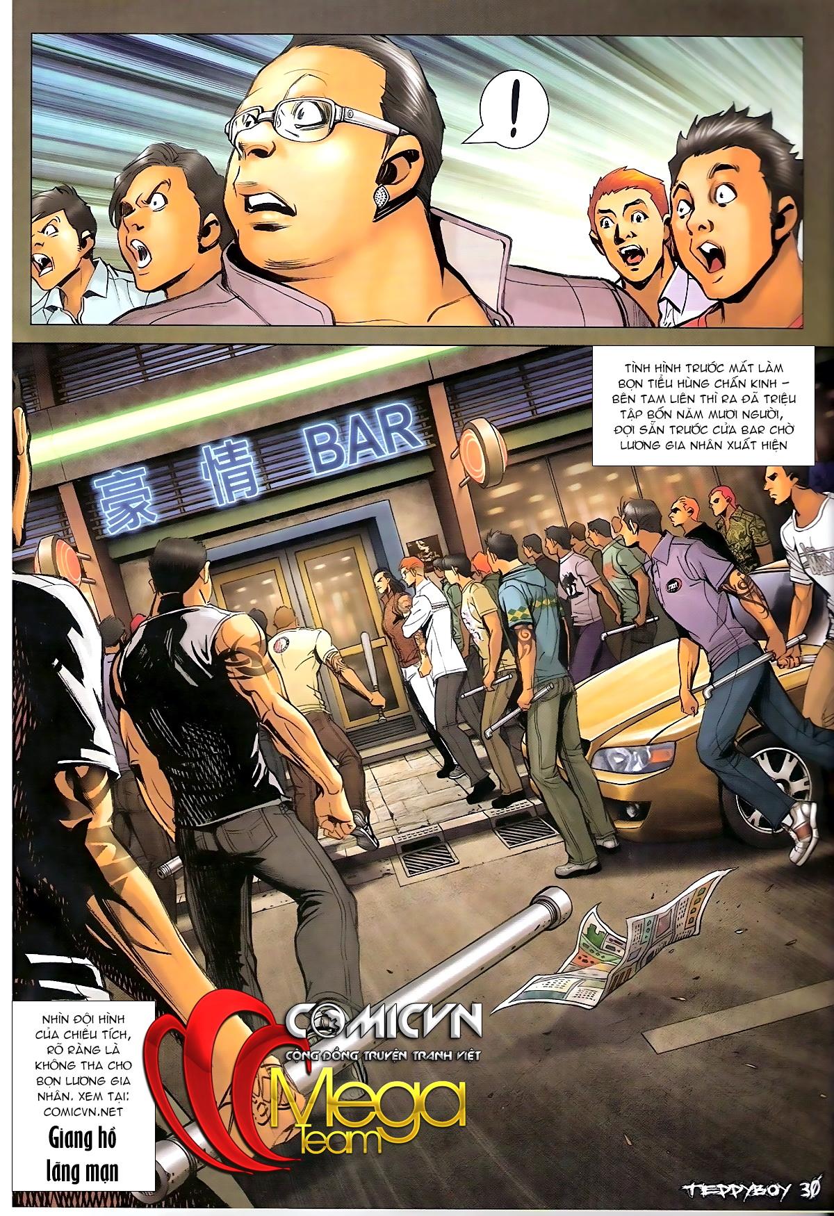 Người Trong Giang Hồ - Chapter 1329: Thằng hèn - Pic 27