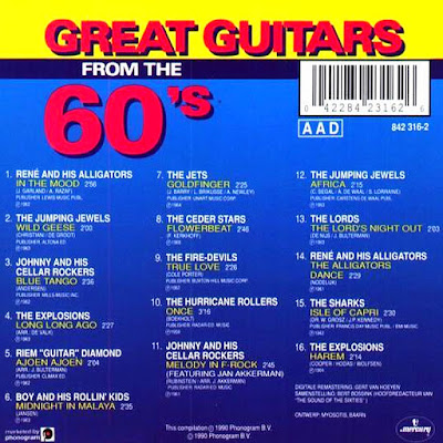 VA - Great Guitars From The 60's (1990)
