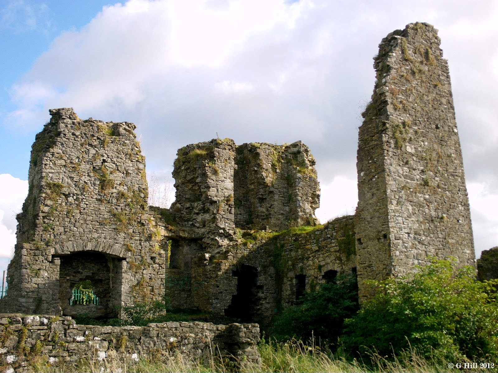 Ireland In Ruins: Blundell Castle Co Offaly