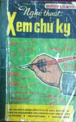 Nghệ thuật xem chữ ký - Huỳnh Liên Tử