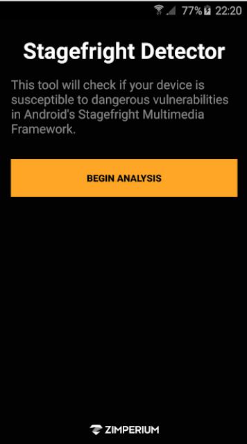 كيف تعرف هل هاتفك الأندرويد مخترق أم لا مع تطبيق Stagefright Detector