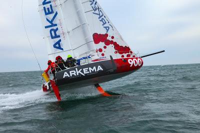 Arkema 3, le Mini à foils