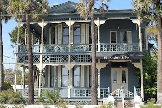 Edificios en Fernandina Beach