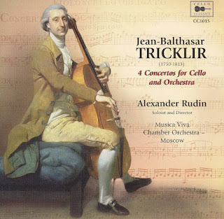 Tricklir: 4 Concertos for Cello and Orchestra