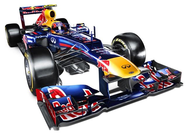 Red Bull RB8 - Bahagian Hadapan