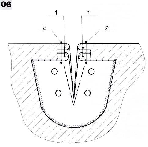 Обработка застежки поло