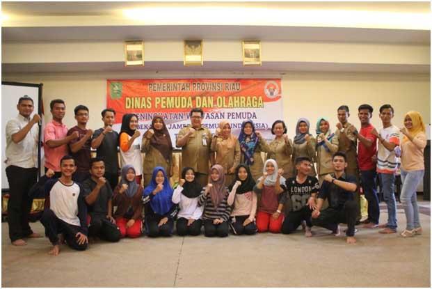 Hari Sumpah Pemuda, Riau Kirim 13 Duta Pemuda ke Palangkaraya