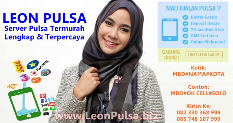 LeonPulsa.net Web Resmi Leon Devi Pulsa CV JPS Termurah