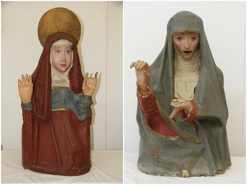 María Magdalena y María de Cleofàs