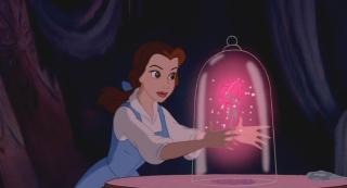 Les Diy De Fishounette Diy Rose Enchantee Sous Cloche De La Belle