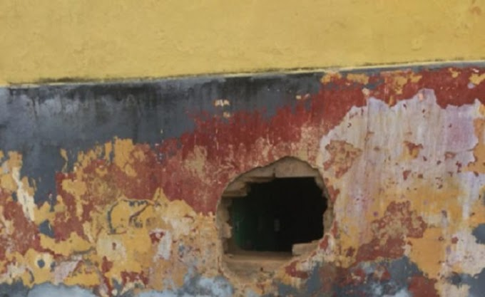 Quatro presos abrem buraco em parede e fogem da Cadeia Pública de Ibiapina, no Ceará