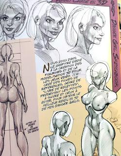 Danger Girl Sketchbook - notes de l'auteur pour les comics, jeux-vidéos, figurines...