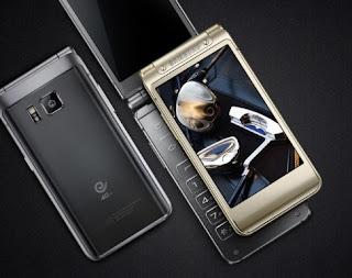 Ponsel lipat layar 4.2 inci