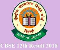 cbse 12th result 2018 - www.cbsereults.nic.in