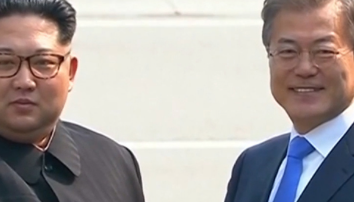 North and South Korea agree to 'COMPLETE denuclearisation' as Moon Jae-in vows 'there will be no war' with Kim Jong-un