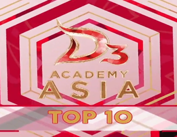 nilai sementara DA Asia 3 Top 10 Grup 2