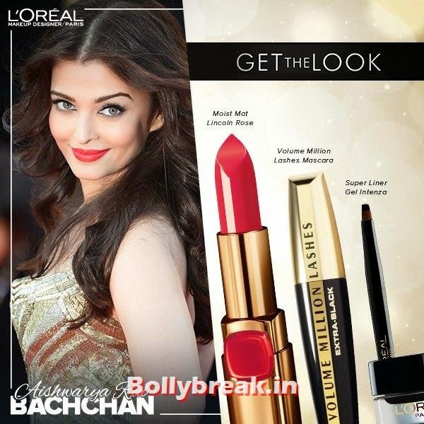 Aishwarya Rai Cannes Look, Get The Cannes Look of Sonam, Aishwarya & Freida