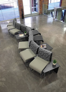 Open Concept Waiting Room