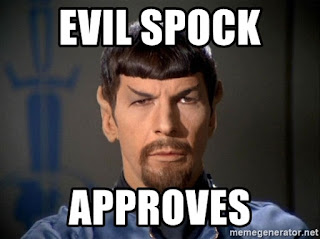 Evil Spock is watching you