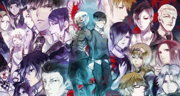 Tokyo Ghoul - Daftar Anime Gore Terbaik