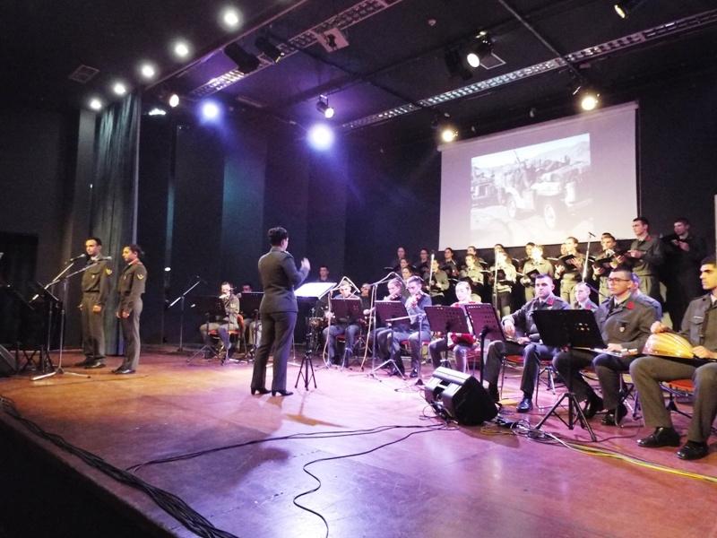 Η εκδήλωση για την Ημέρα των Ενόπλων Δυνάμεων στα Τρίκαλα