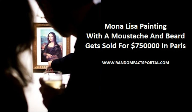 Mona Lisa Painting With A Moustache And Beard Gets Sold For $750000 In Paris