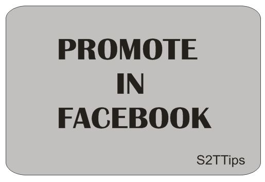 Promote Your Facebook Fan Page
