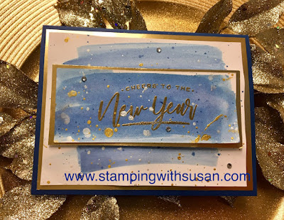 Stampin' Up!, Warm Hearted, www.stampingwithsusan.com, Happy New Year