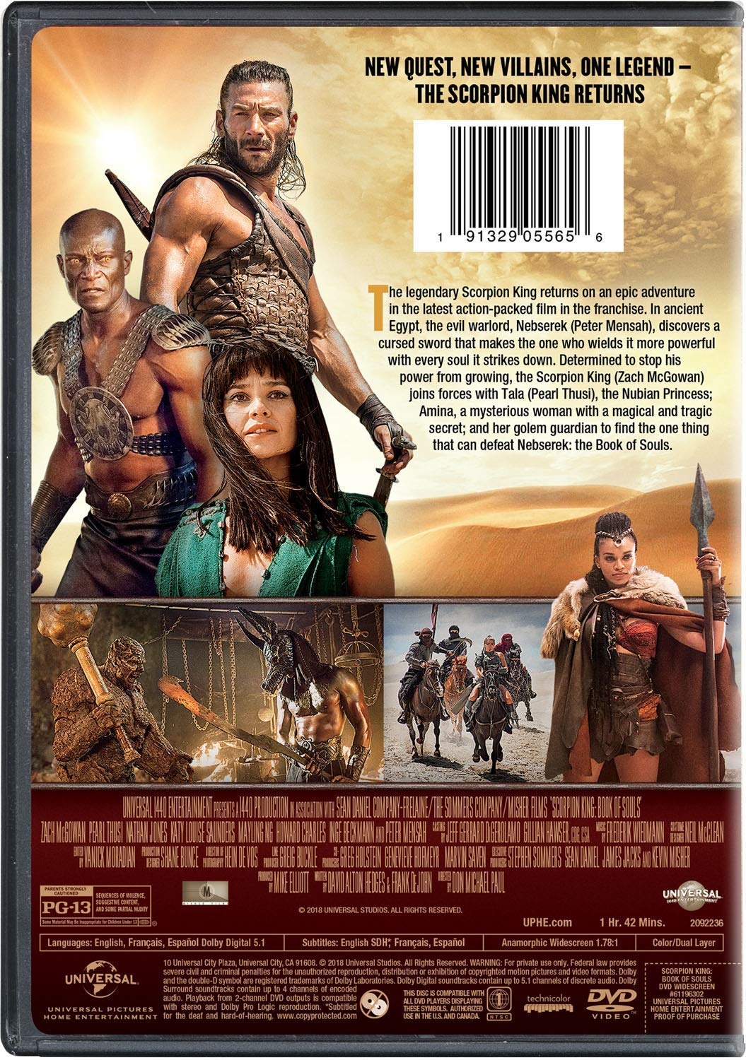 The Scorpion King Book of Souls (2018) English 300MB HDRip 480p ESubs