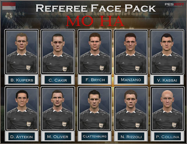 PES 2017 Referee Pack dari Mo Ha
