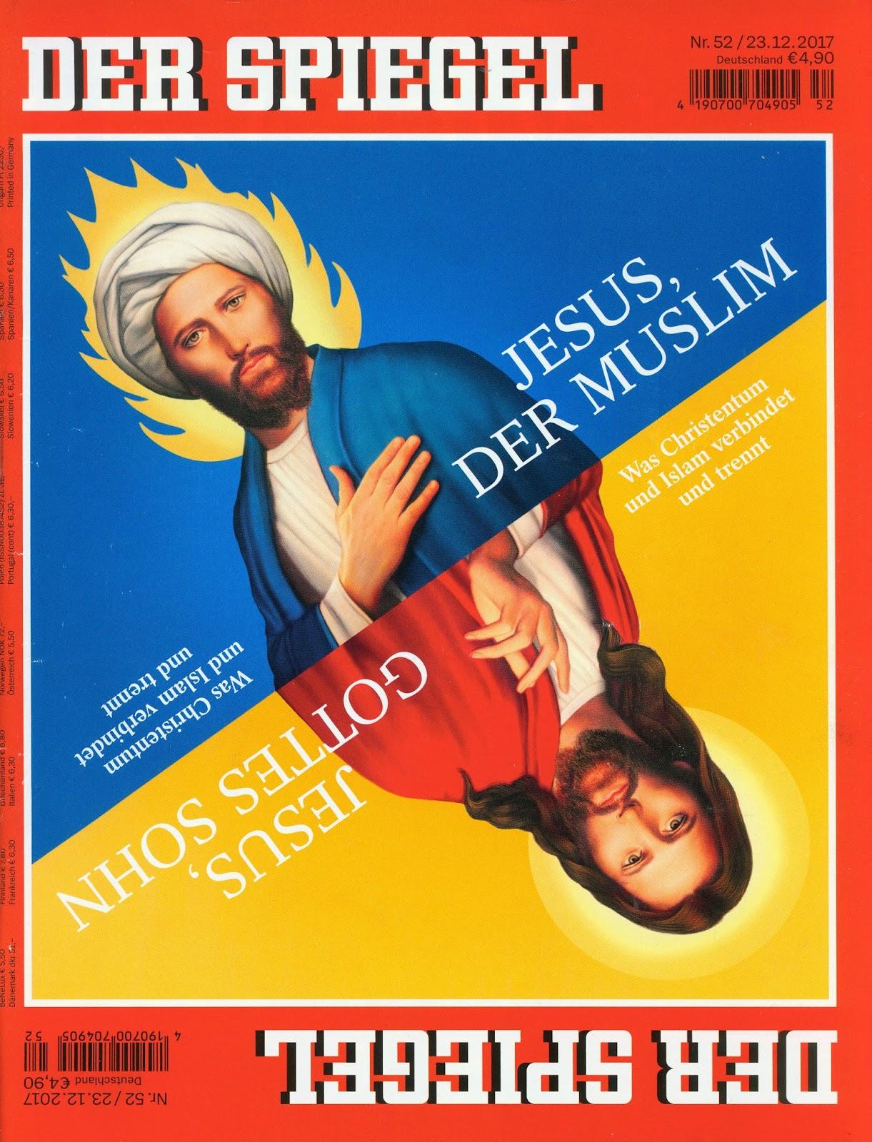 Red baron 39 s blog december 2017 for Spiegel jesus