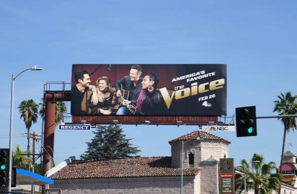 Voice season 14 billboard