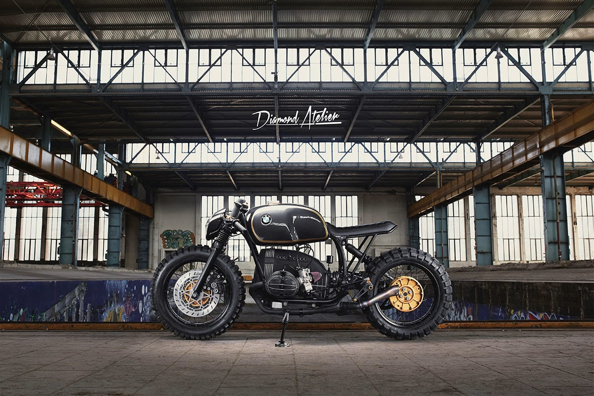 BMW R100R off road by Diamond Atelier