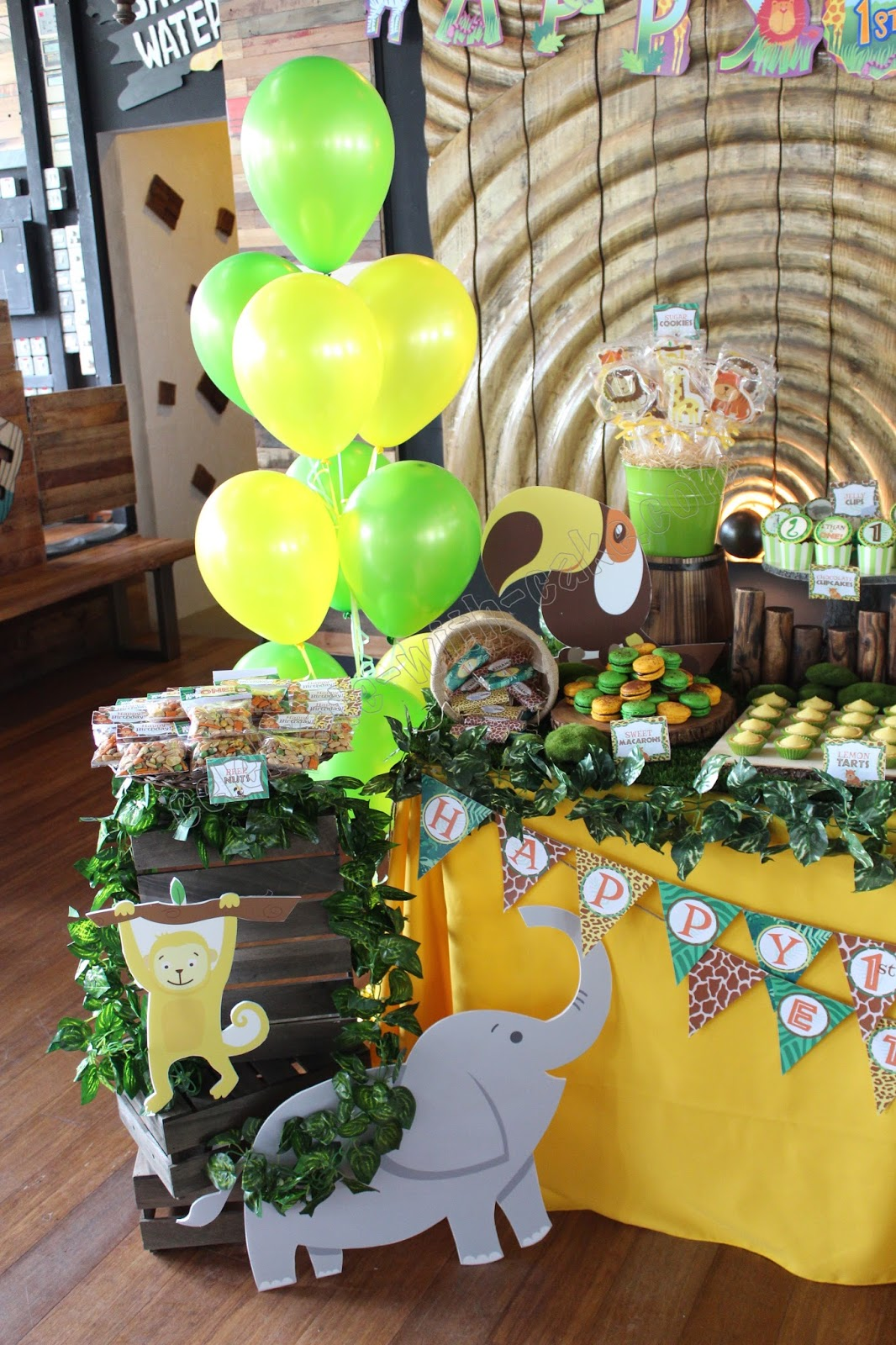 Safari Themed Dessert Table Click On Post For More Pictures