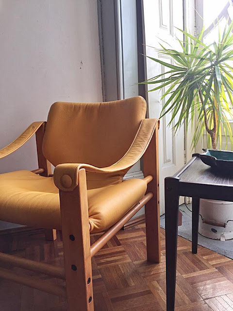 safari chair, vintage, nórdico, a Porta Verde