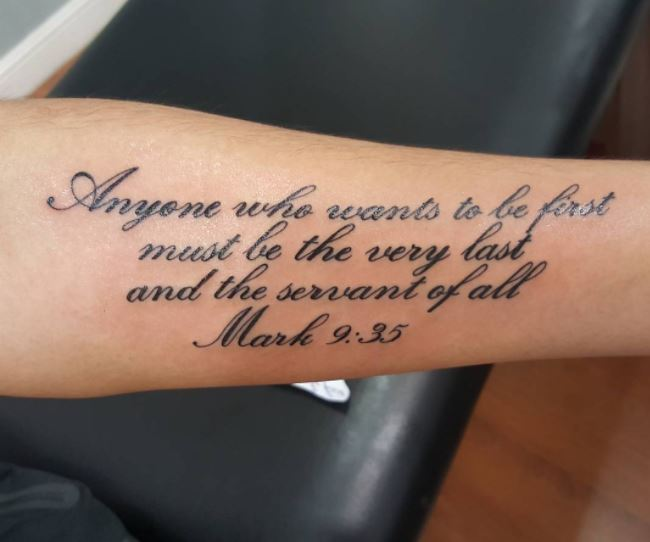 Bible Quote Tattoos: 50+ Best Bible Verse Tattoos For Men (2019)
