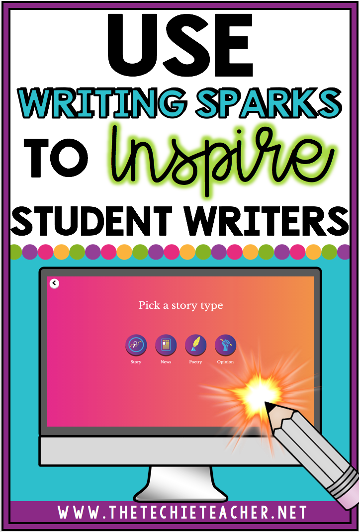 Use Writing Sparks to Inspire Student Writers: Writing Sparks is a free webtool teachers and students can use to help with the writing process