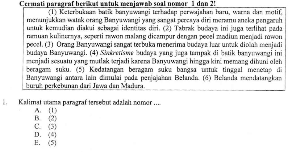 Pembahasan Soal Un Tahun 2016 2017 Bahasa Indonesia Sma Ma